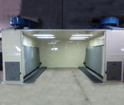 Spray Paint Booths Auto Powder Coating Booths Liquid